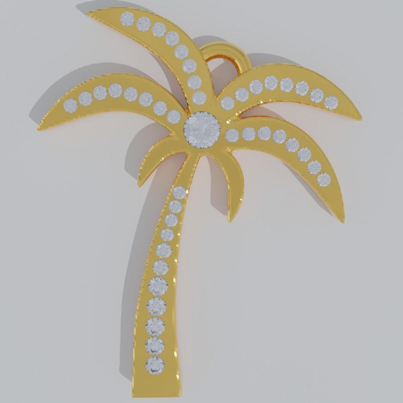 palmtree with diamonds2